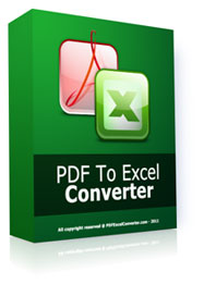 Buy PDF To Excel Converter