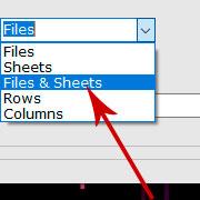 合併Excel文件和工作表