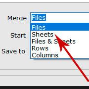 合併Excel文件