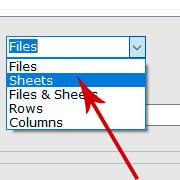 合併Excel工作表和工作簿